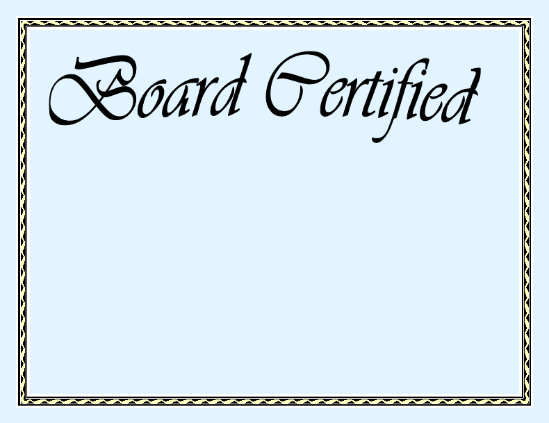 What Is Board Certification Itis