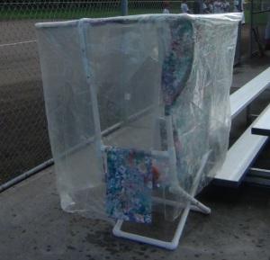 Covered Baseball Chair